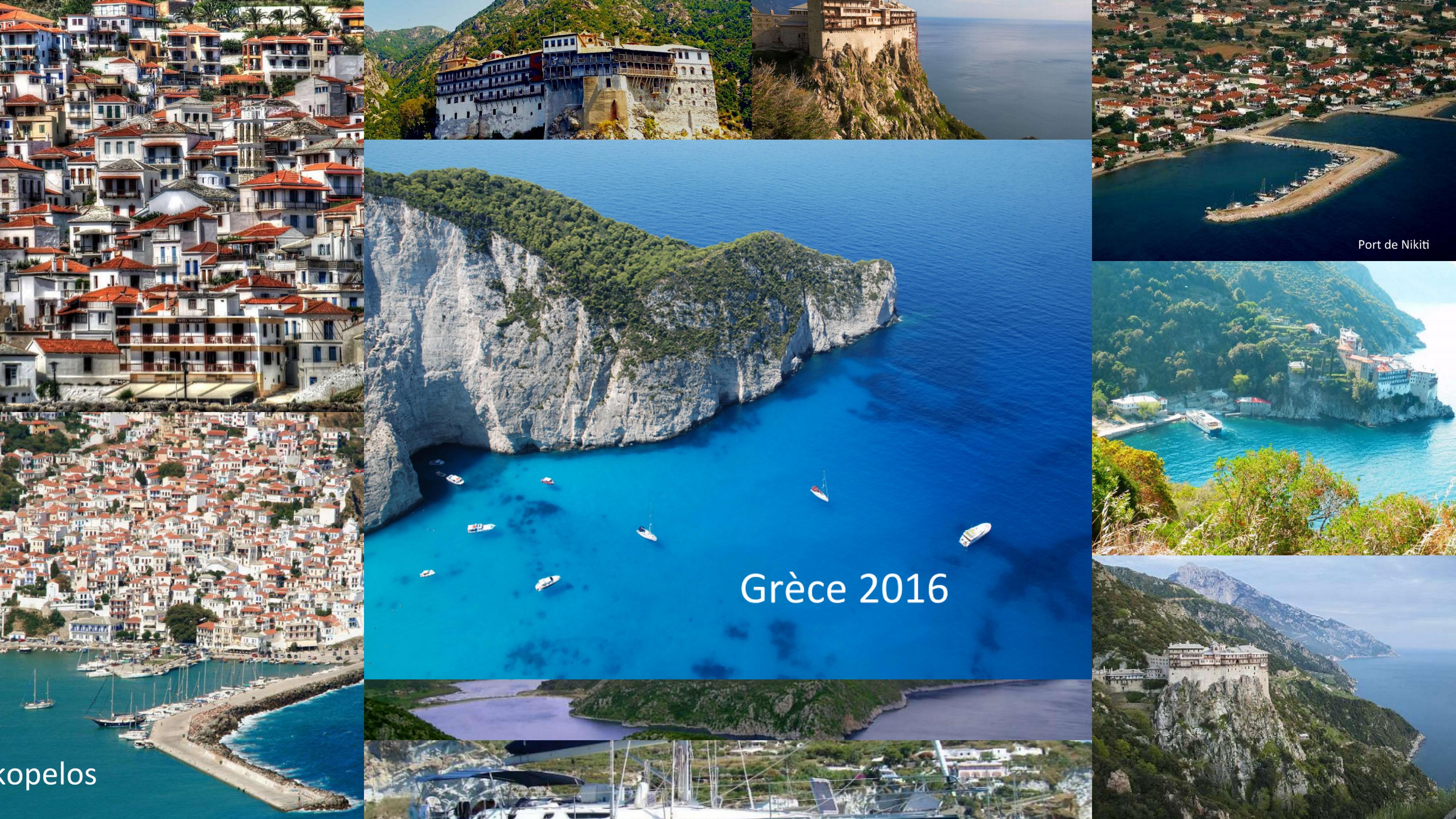 Camps Pios en Grèce