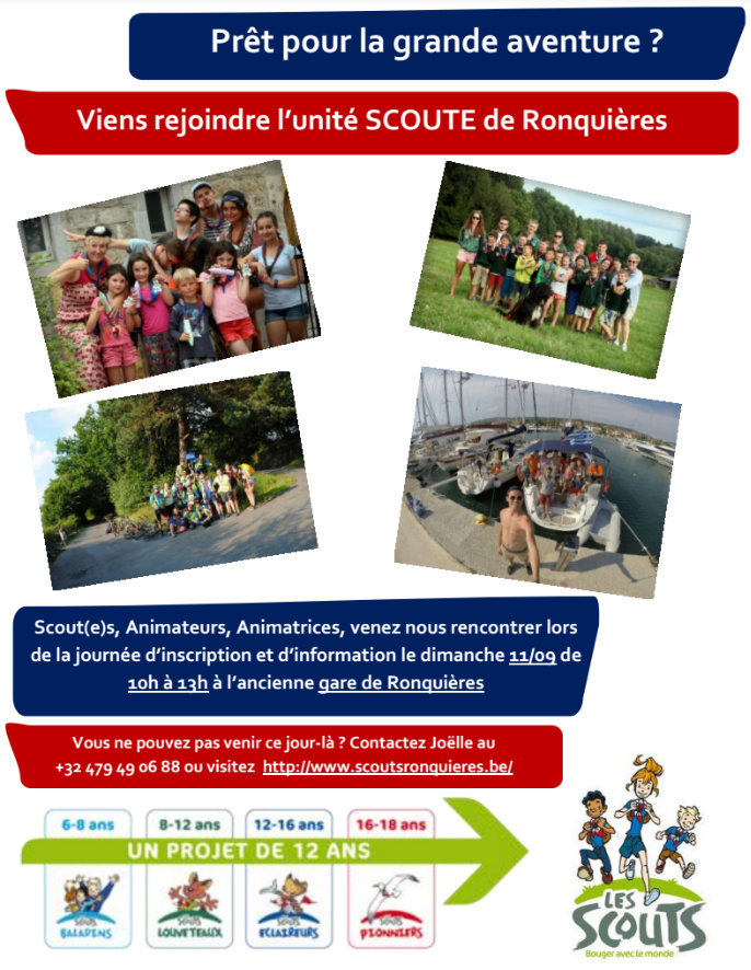 Flyers journée d'Inscription