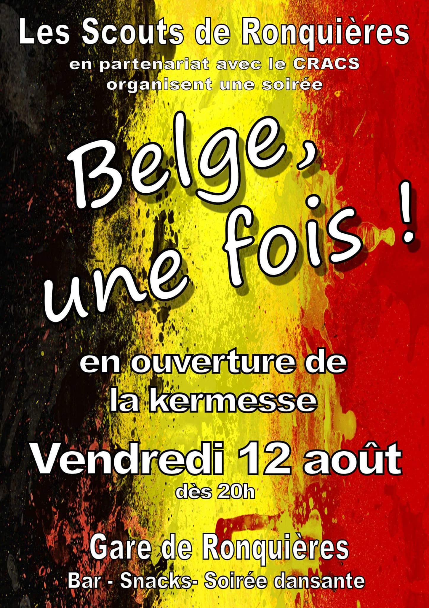 Belge, une fois!